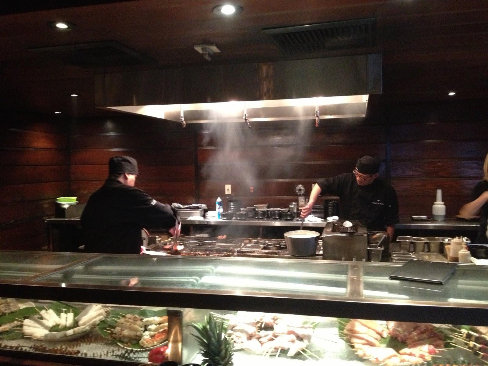Katana binchotan charcoal robata grill